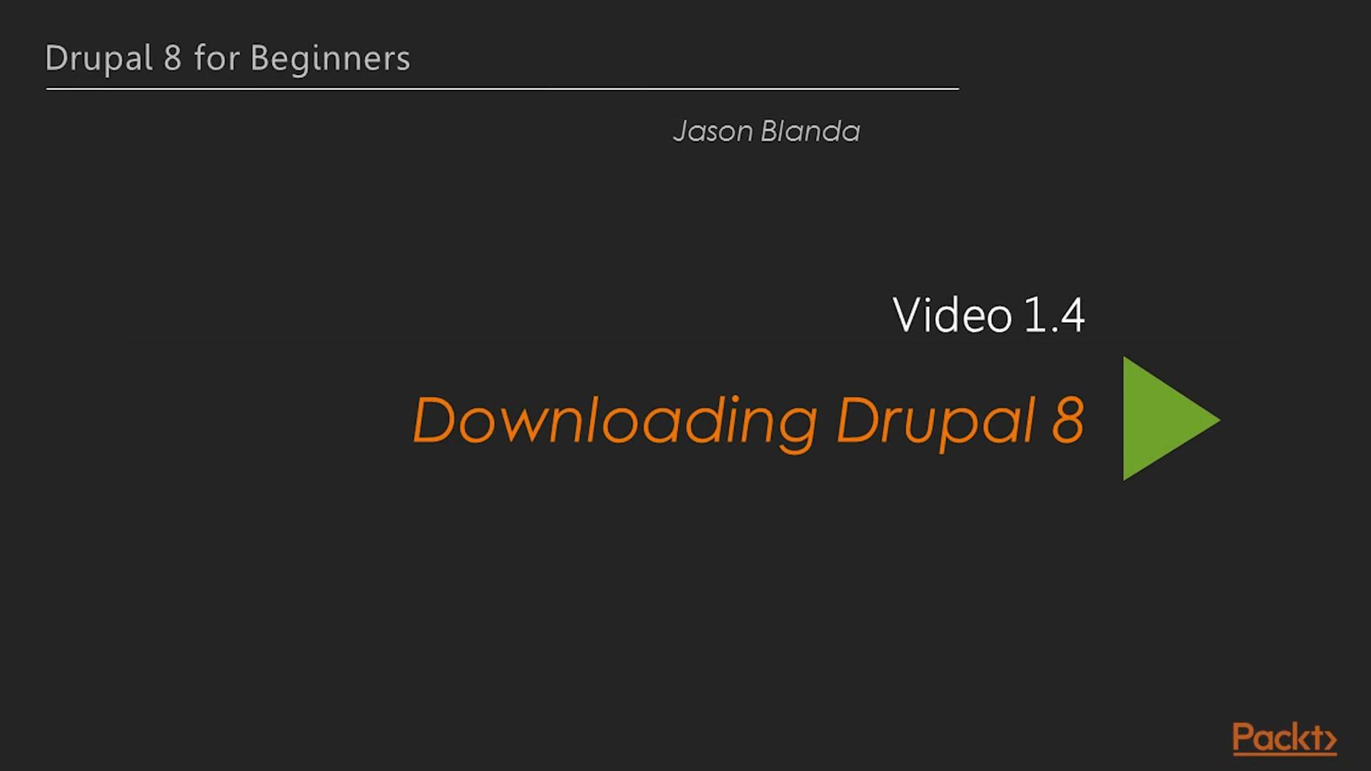 Drupal 8 for Beginners
