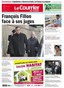 Le Courrier de l'Ouest Cholet – 24 février 2020