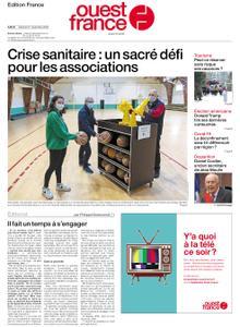 Ouest-France Édition France – 21 novembre 2020