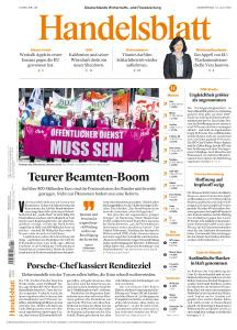 Handelsblatt - 16 Juli 2020