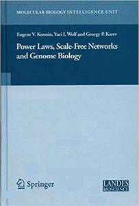 Power Laws, Scale-Free Networks and Genome Biology (Repost)