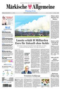 Märkische Allgemeine Fläming Echo - 28. Januar 2019