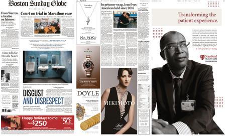 The Boston Globe – December 08, 2019
