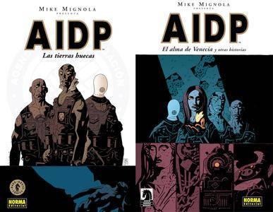 AIDP: Las Tierras Huecas (Tomo 1) y El Alma de Venecia (Tomo 2)