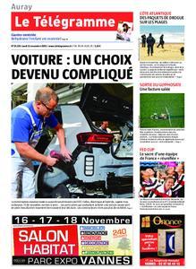 Le Télégramme Auray – 11 novembre 2019