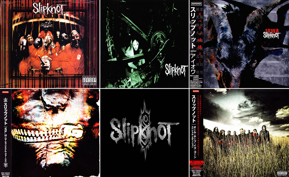 Slipknot - Albums Collection 1996-2008 (5CD) [Re-Up] / AvaxHome