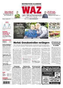 WAZ Westdeutsche Allgemeine Zeitung Oberhausen-Sterkrade - 16. September 2017