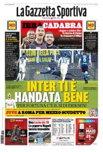 La Gazzetta dello Sport Roma – 12 gennaio 2020
