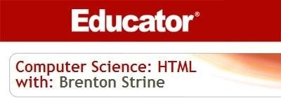 Computer Science: HTML Training