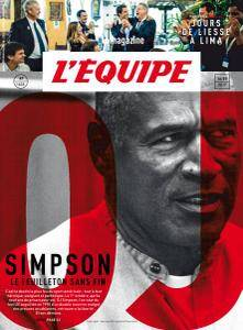 L'equipe Magazine - 16 Septembre 2017