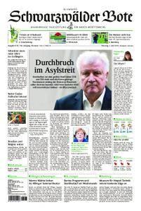 Schwarzwälder Bote Blumberg - 03. Juli 2018