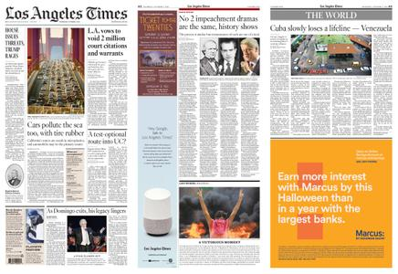 Los Angeles Times – October 03, 2019