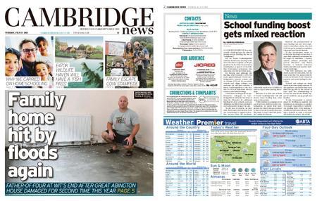 Cambridge News – July 27, 2021