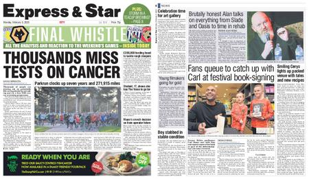 Express and Star City Edition – February 03, 2020
