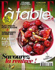 Elle à Table - Septembre/Octobre 2016