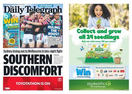 The Daily Telegraph (Sydney) – September 14, 2019