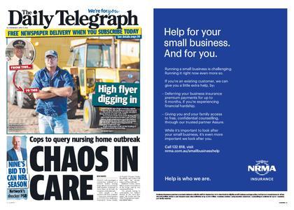 The Daily Telegraph (Sydney) – April 15, 2020