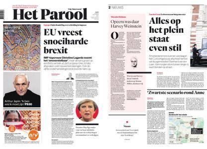 Het Parool – 13 oktober 2017