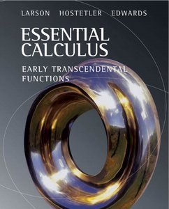 Essential Calculus: Early Transcendental Functions (Repost)