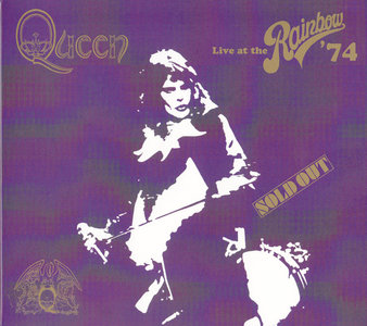 Queen - Live at the Rainbow '74 (2014) [2CD + DVD]
