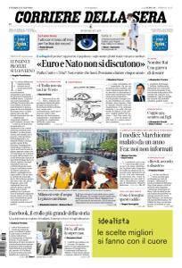 Corriere della Sera - 27 Luglio 2018