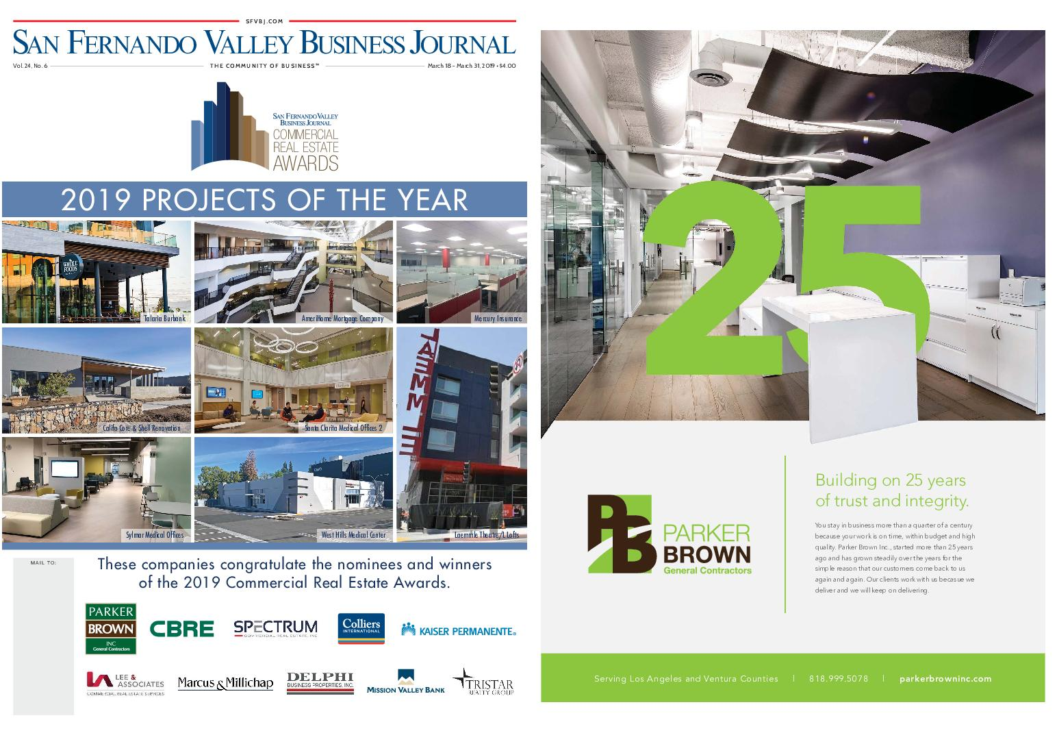 San Fernando Valley Business Journal – March 18, 2019