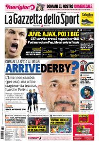 La Gazzetta dello Sport Roma – 16 marzo 2019