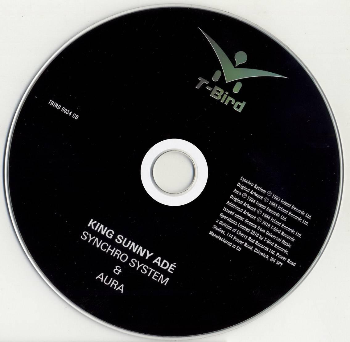 King Sunny Ade Synchro System Amp Aura 1983 84 T Bird