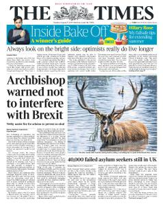 The Times - 27 August 2019