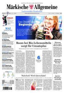 Märkische Allgemeine Luckenwalder Rundschau - 17. Januar 2018
