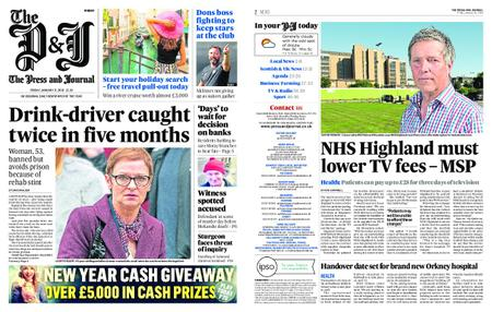 The Press and Journal Moray – January 11, 2019