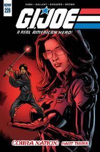 G I Joe - A Real American Hero 228 2016 2 covers digital
