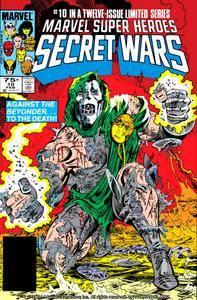 Captain America v1 292k Marvel Super Heroes Secret Wars 10