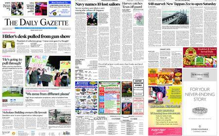 The Daily Gazette – August 25, 2017