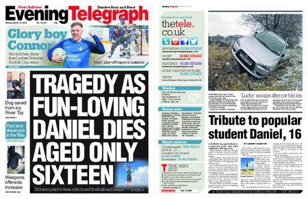 Evening Telegraph First Edition – March 19, 2018