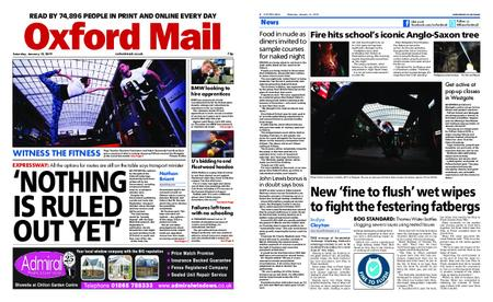 Oxford Mail – January 12, 2019