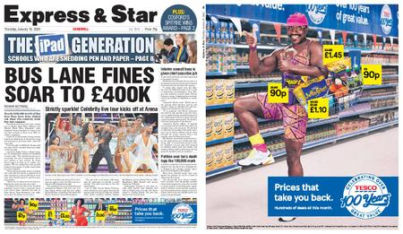 Express and Star Sandwell Edition – January 16, 2020