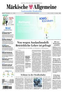 Märkische Allgemeine Luckenwalder Rundschau - 19. März 2019