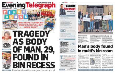 Evening Telegraph First Edition – September 17, 2019