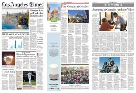 Los Angeles Times – October 08, 2019