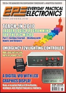 Everyday Practical Electronics Magazine November 2009