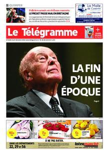 Le Télégramme Quimper – 03 décembre 2020