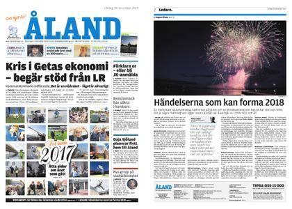 Ålandstidningen – 30 december 2017
