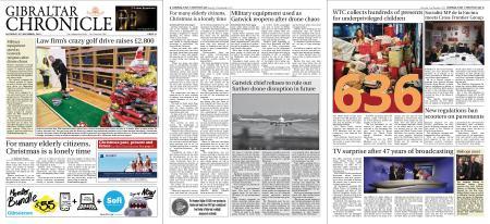 Gibraltar Chronicle – 22 December 2018