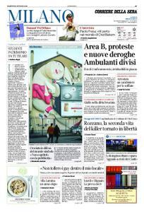 Corriere della Sera Milano – 15 gennaio 2019