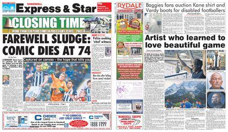 Express and Star Sandwell Edition – August 01, 2018