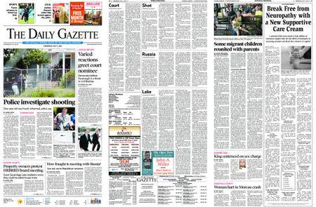 The Daily Gazette – July 11, 2018