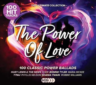 VA - Power Of Love: The Ultimate Collection (5CD, 2019)