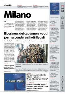 la Repubblica Milano - 19 Ottobre 2018