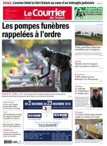 Le Courrier de l'Ouest Cholet – 31 octobre 2019